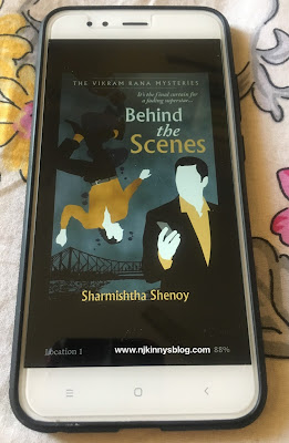 Book Review: Behind the Scenes ( A Vikram Rana Mystery) by Sharmishtha Shenoy