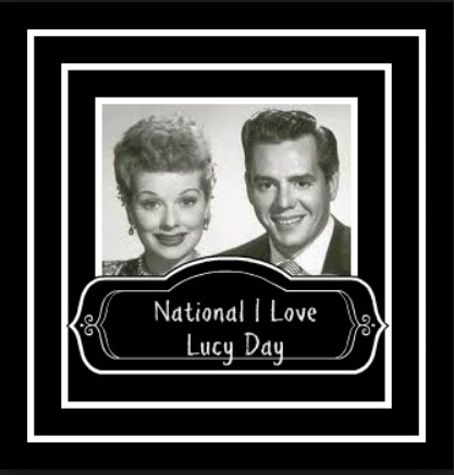 National I Love Lucy Day Wishes