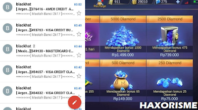 Cara Top Up Diamonds Ilegal Mobile Legends Lengkap