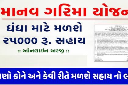 Manav Garima Yojana 2021: Download Application Form PDF & Apply Online