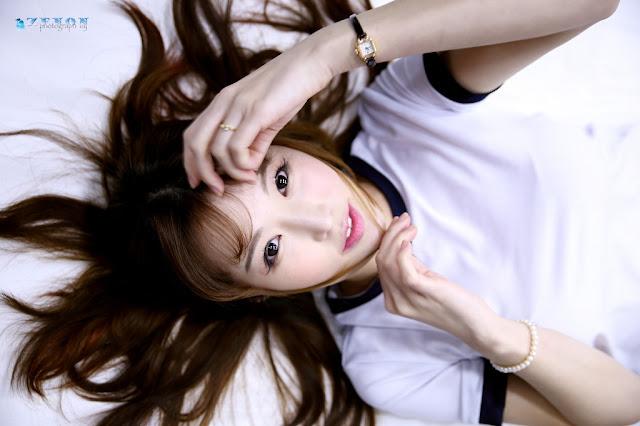 1 Seol Re Na - Three Studio Sets - very cute asian girl-girlcute4u.blogspot.com