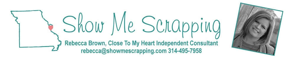 Show Me Scrapping Blog