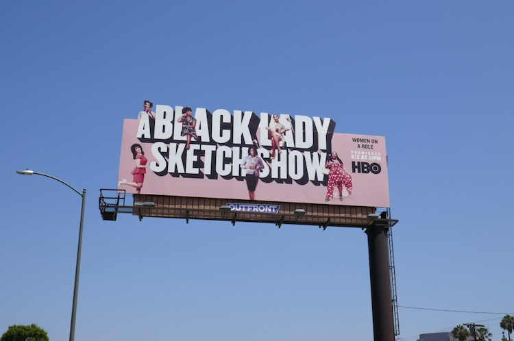 A Black Lady Sketch Show season 1 billboard
