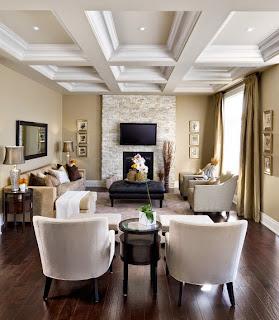 sala paredes beige