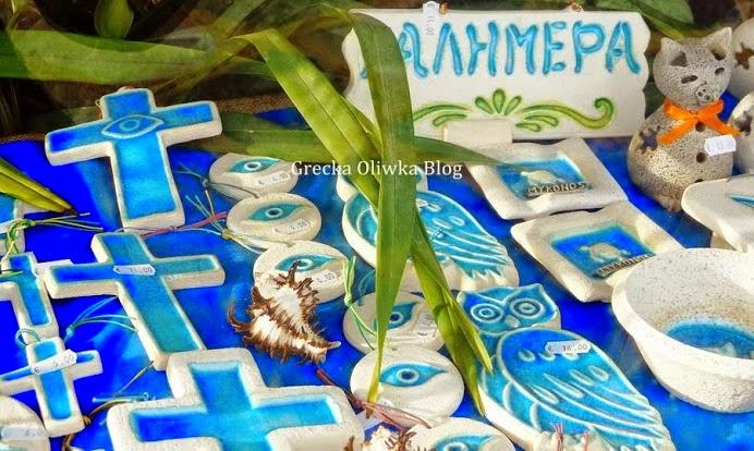 greckie talizmany, niebieski oko, matochantry