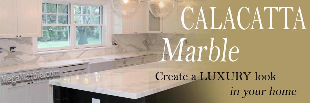 Calacatta marble slab for sale