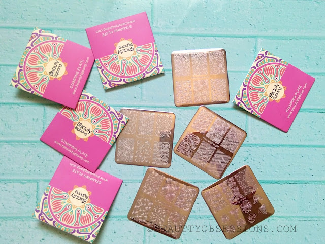 Beautybigbang Floral Stamping Plates Set Review
