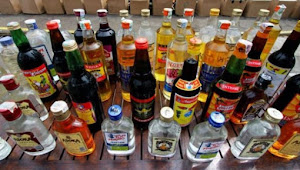 Polres Indramayu Gelar Operasi Pekat Sita 390 Botol Miras Berbagai Merk