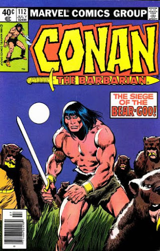 Conan the Barbarian #112