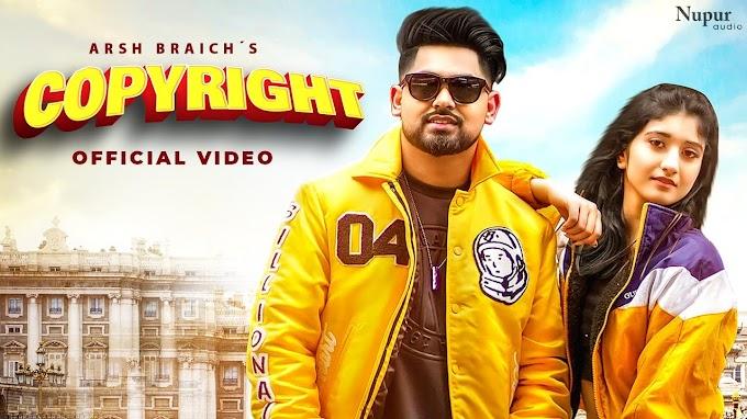 Copyright Song Lyrics - Arsh Braich   Latest Punjabi Songs 2021 - Lyricspunjabimusix - Blogger