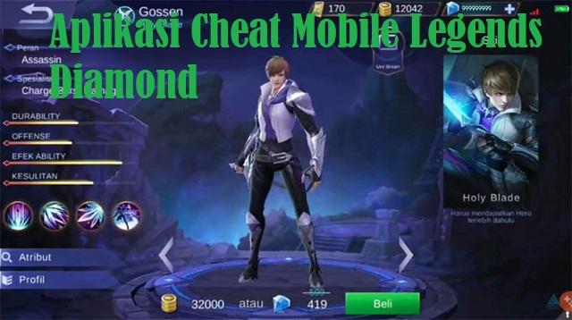 Aplikasi Cheat Mobile Legends Diamond