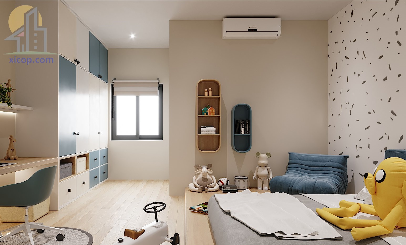 Nhà 3 tầng 100m2 đẹp hiện đại mẫu thiết kế với chi phí xây dựng rẻ