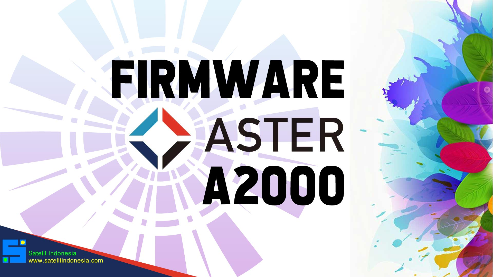Download Software Aster A2000 Update Firmware Receiver