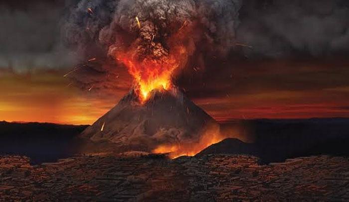 Ledakan pompeii