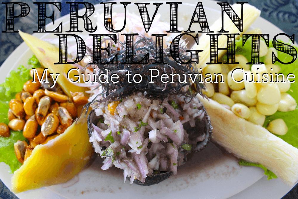 peruvian cuisine header