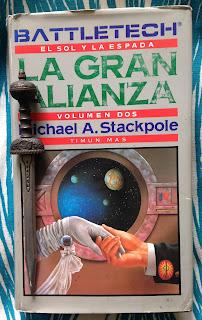 Portada del libro La gran alianza, de Michael A. Stackpole