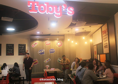 Restoran Toby's outlet di BG Junction Surabaya