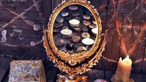 Как снять порчу через зеркало