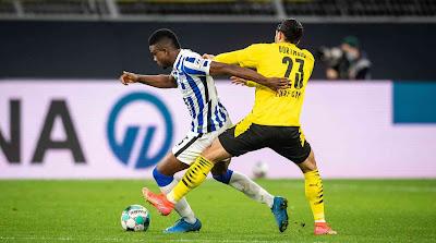 ملخص واهداف مباراة بوروسيا دورتموند وهرتا برلين (2-0) الدوري الالماني
