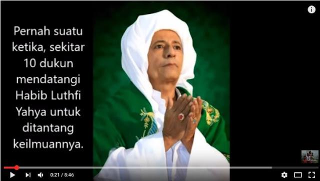 Puluhan DUKUN Menantang Beliau Habib Luthfi & Akhirnya Tunduk