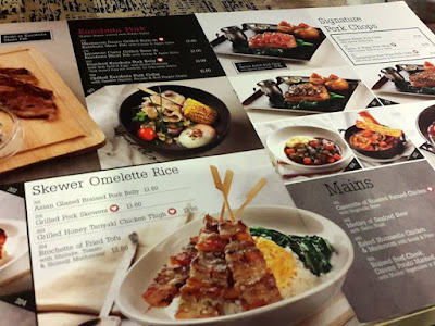 Three Little Pigs Menu at Ngee Ann City Singapore