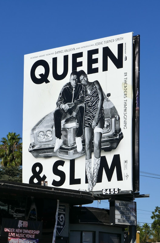 Queen & Slim movie billboard