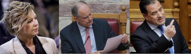 Γεροβασίλη προς Τασούλα: Παραπέμψτε τον Γεωργιάδη στην Επιτροπή Δεοντολογίας