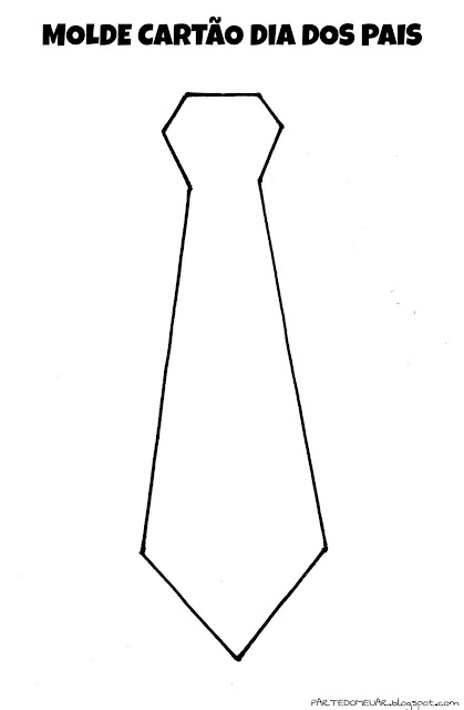 molde gravata