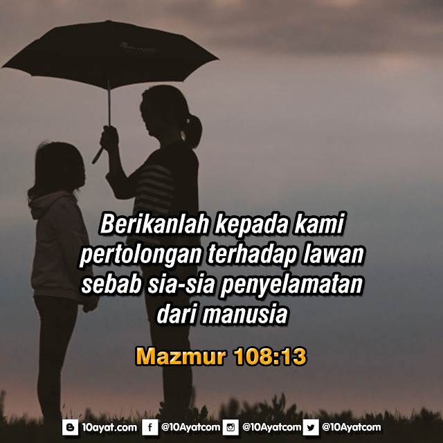 Mazmur 108:13