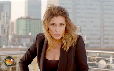 Elisa Isoardi foto prima puntata isola dei famosi