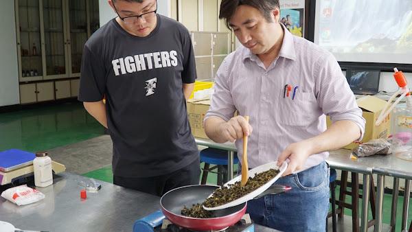 果皮再利用 大葉大學食生系教手作鳳梨窨茶