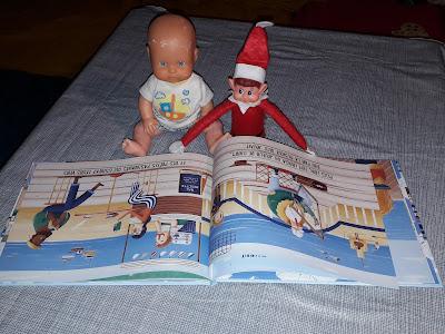 bébé enfant poupon elf histoire conte noel lutin elf betise