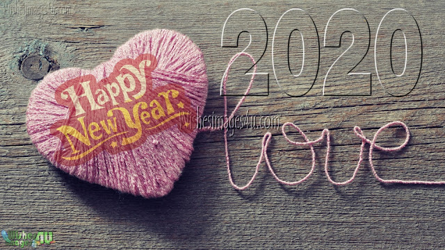 New Year 2020 Love Background Images