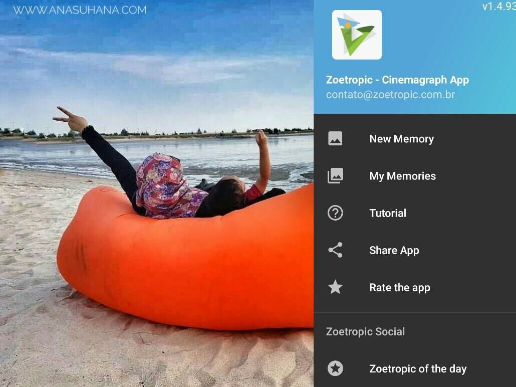 Edit Gambar Nampak Lebih Hidup Dengan Aplikasi Zoetropic Ana Suhana