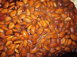 Image of soaked almonds
