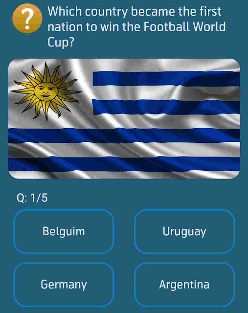 Which country became the first nation to win the Football World Cup?