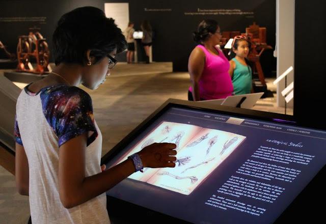 Da Vinci--Inventions Exhibition (image via Kean University)
