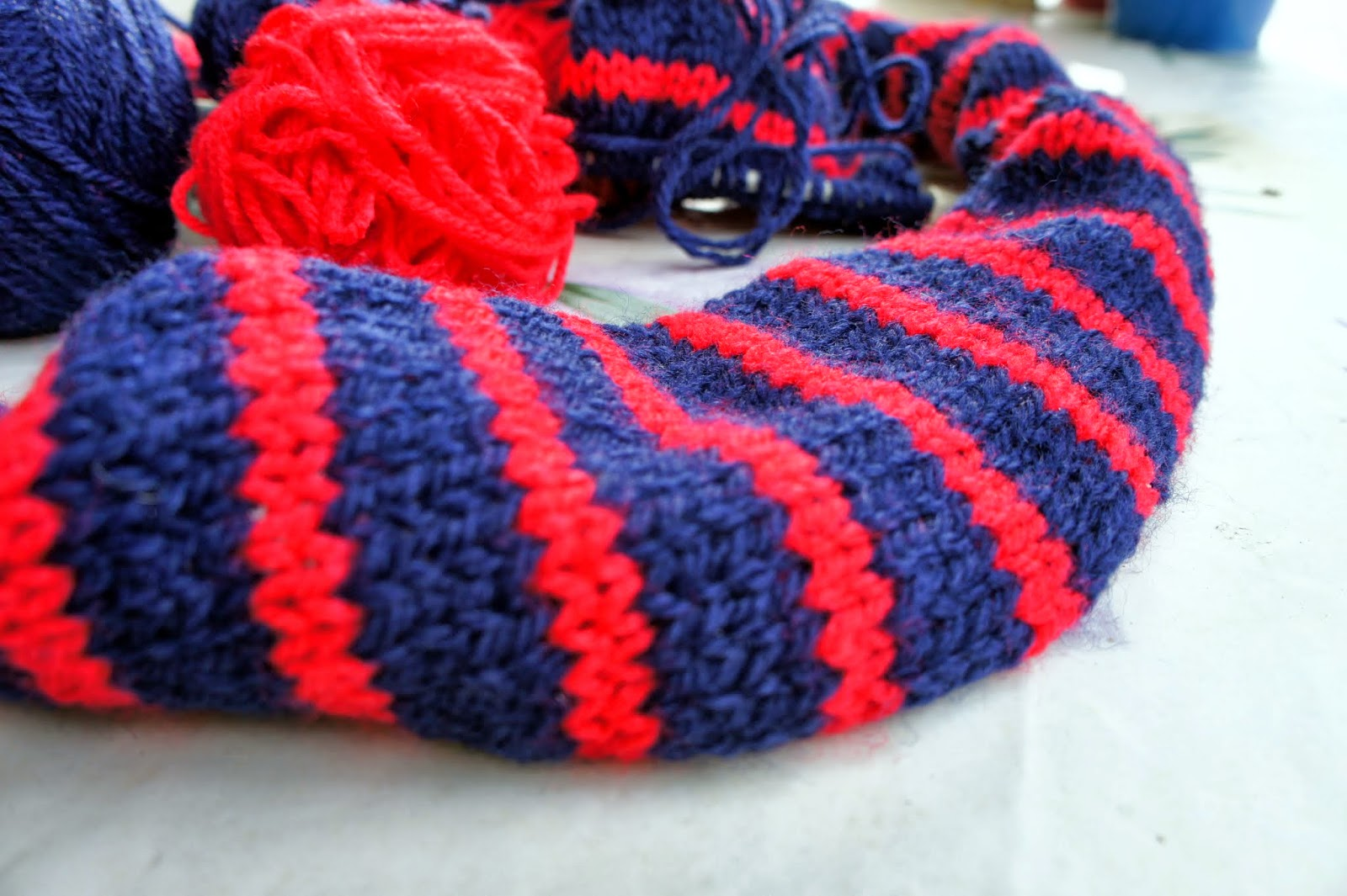 I Have Cast On 29 Sches And 3 Knit Each Side But Its Still Rolling In Think Too Wide So Plan To Sew It Together Making A