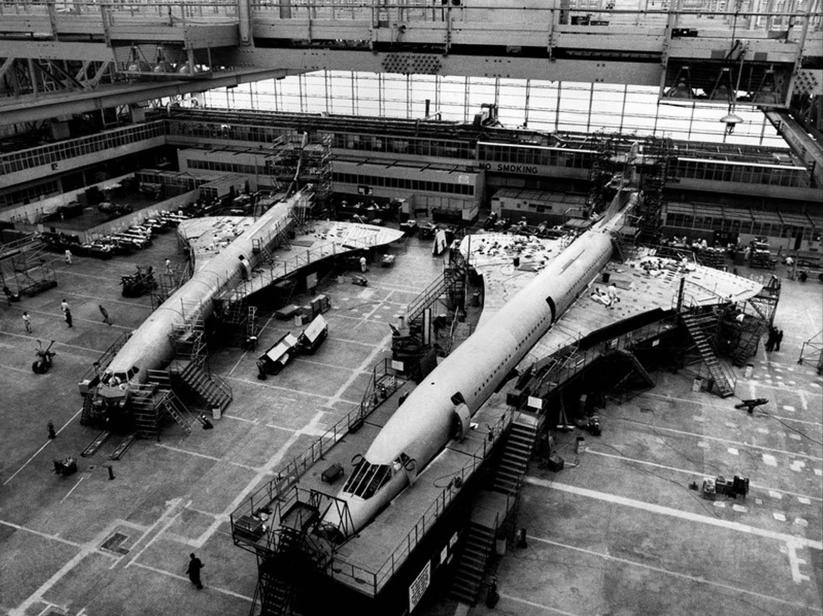 Manufacturing Concorde, the World's First Supersonic Passenger Jet