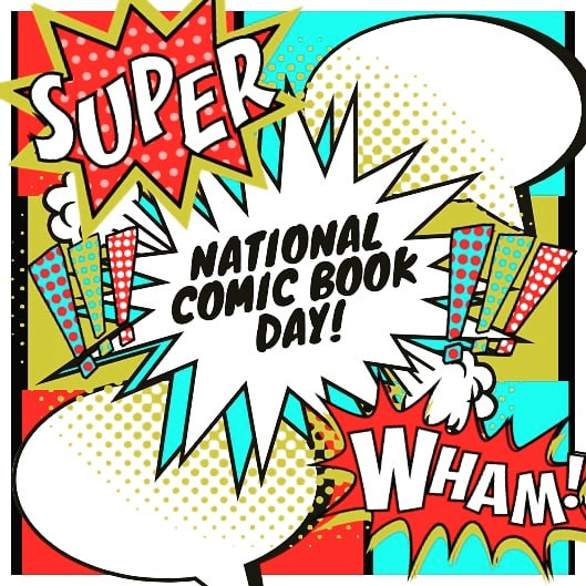 National Comic Book Day Wishes Photos