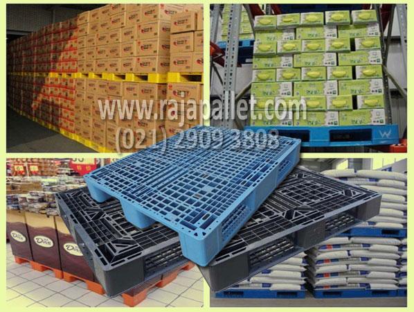 Peranan Penting Pallet Plastik dalam Mata Rantai Produksi  Makanan.