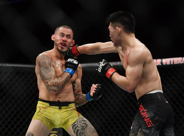 Song Yadong lands Marlon Vera Face UFC on ESPN 8