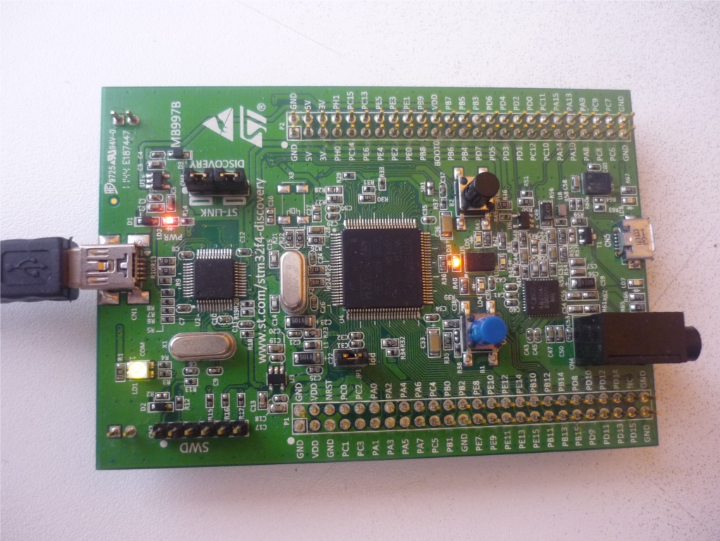 Embedded Programmer: STM32F4DISCOVERY Development with GCC