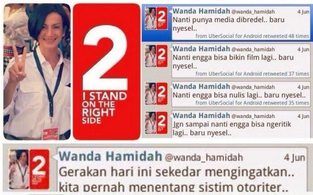 Wanda Hamidah Disebut Peramal Ulung