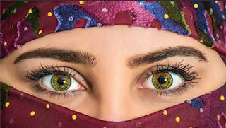 cara mengubah warna mata dengan photoshop