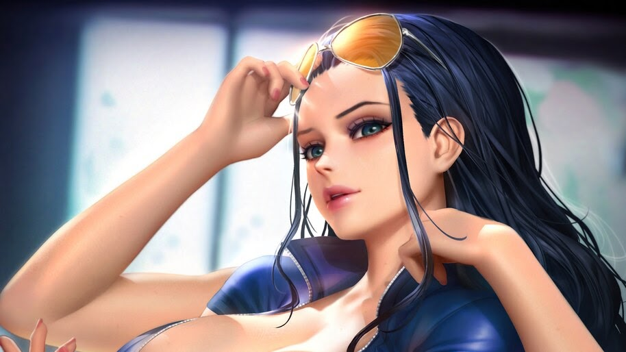 Nico Robin, One Piece, Girl, 4K, #6.2572