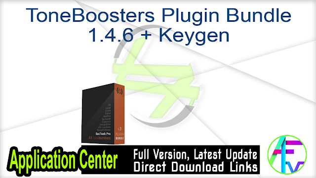 ToneBoosters Plugin Bundle 1.4.6 + Keygen