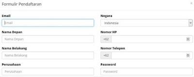 isi formulir pendaftaran pembelian domain di rumahweb