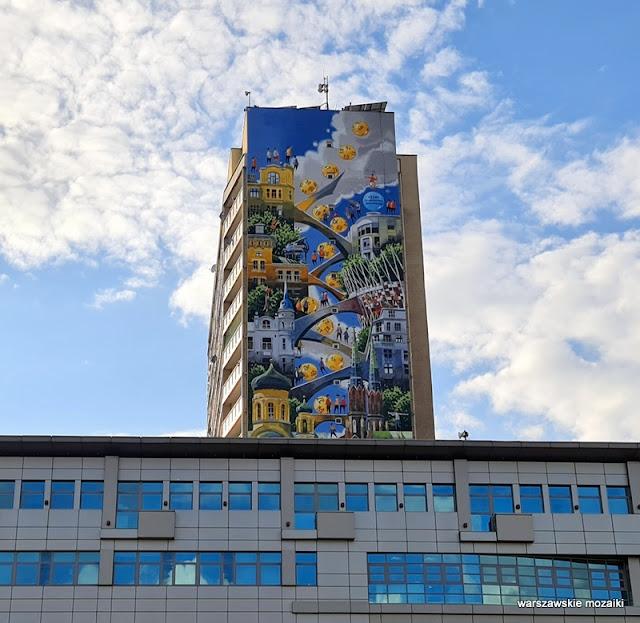 Warszawa Warsaw Praga Północ Targowa Tytus Brzozowski muralart streetart warszawskie murale praskie mural