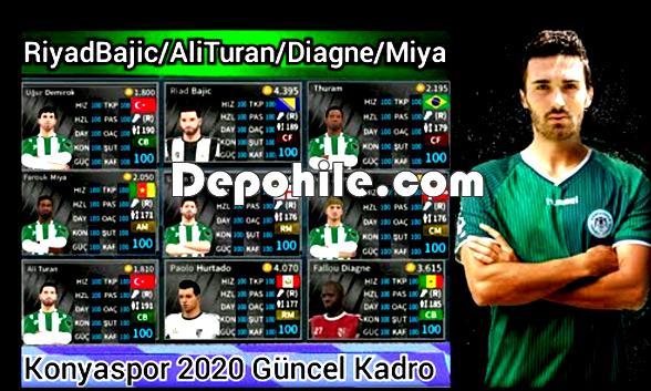 DLS Konyaspor 2020 Yaması İndir Güncel Kadro Hileli ve Hilesiz